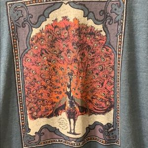Lucky Brand Peacock shirt